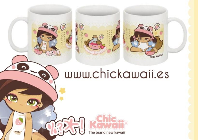 Tazas Chic Kawaii 3
