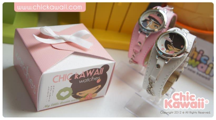 Relojes Chic Kawaii 2