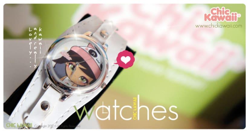 Relojes Chic Kawaii 1