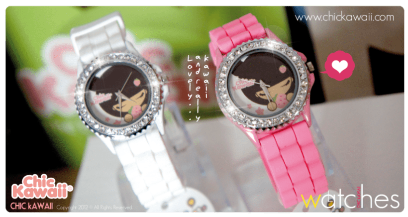 Relojes Chic Kawaii 3