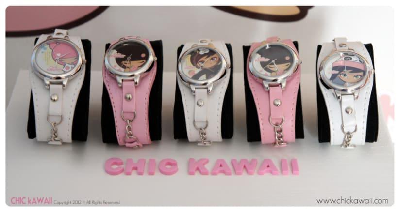 Relojes Chic Kawaii 4