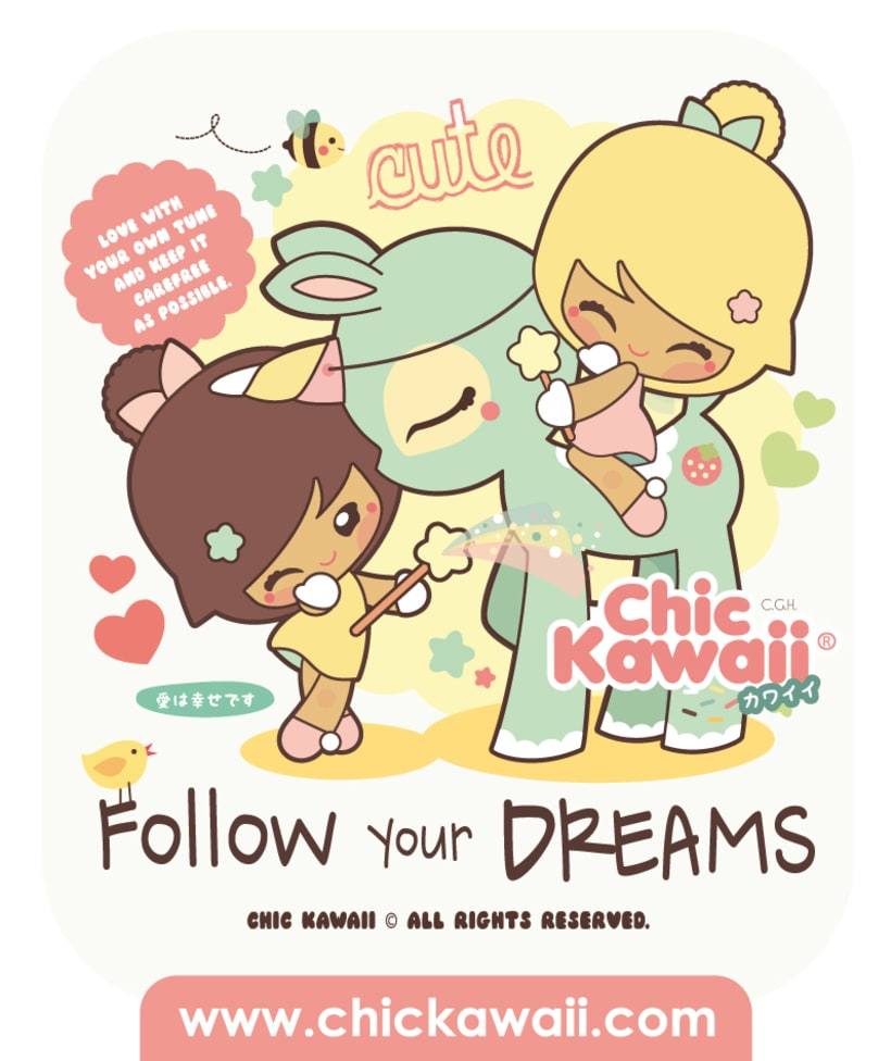 Personajes Chic Kawaii 0