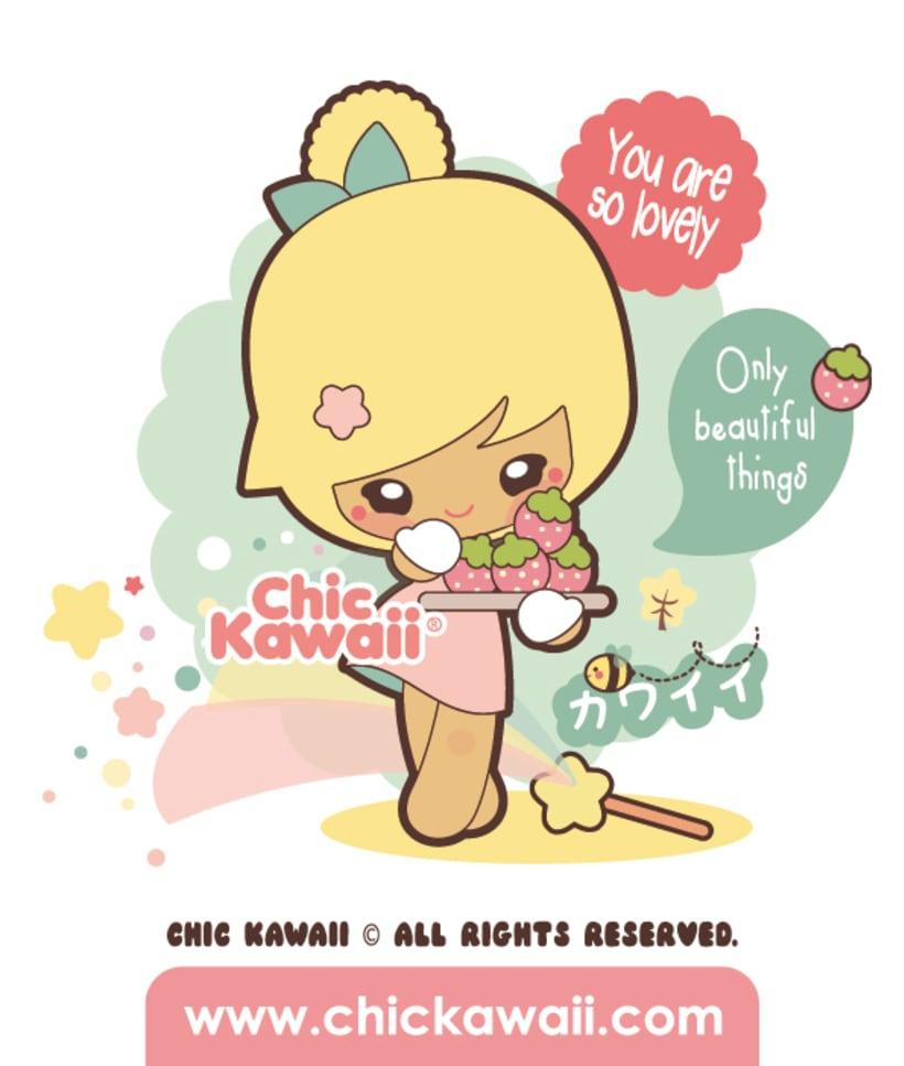 Personajes Chic Kawaii 1