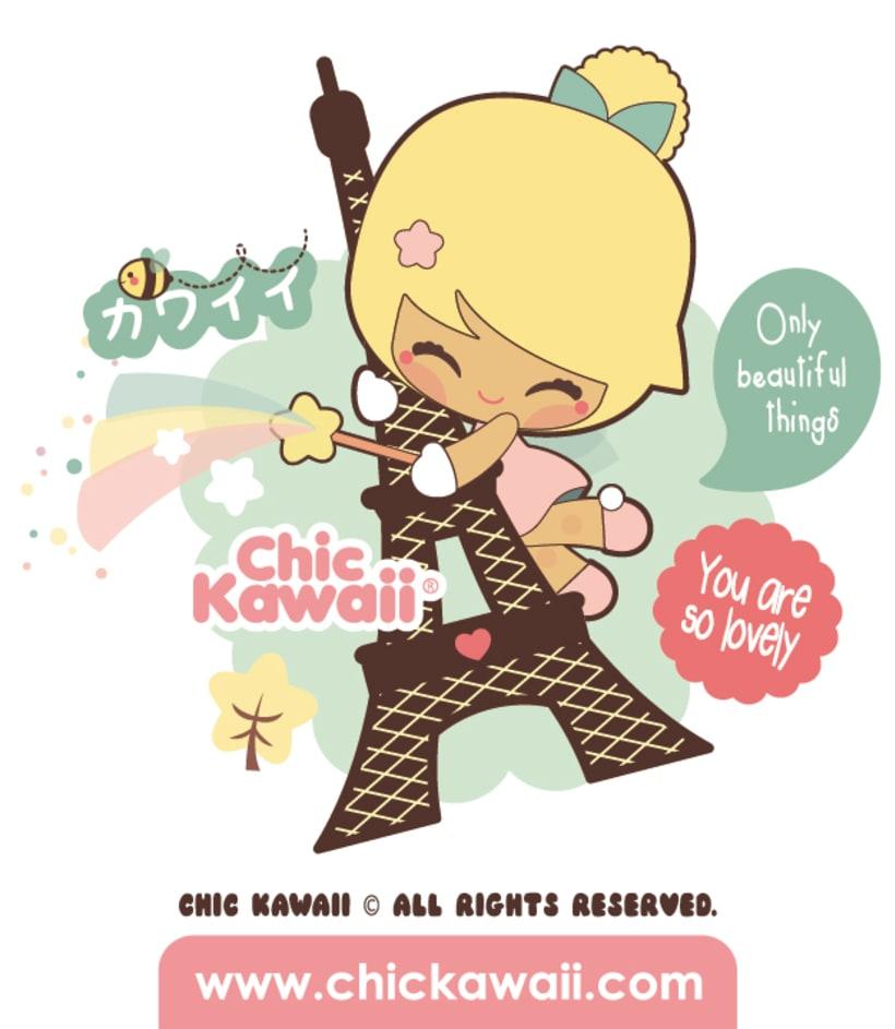 Personajes Chic Kawaii 2