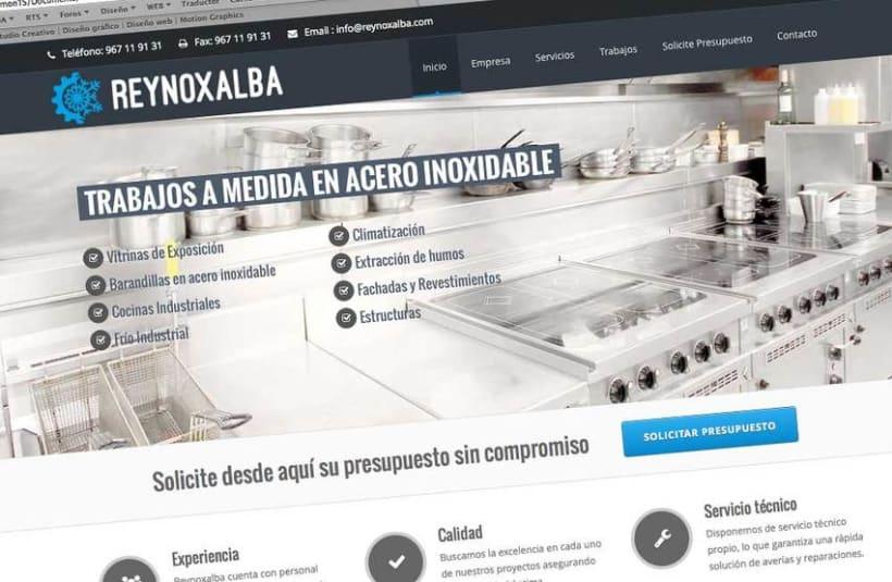 Identidad corporativa y página web de Reynoxalba 3