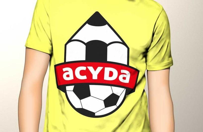 Identidad visual y cartelería para ACYDA 1