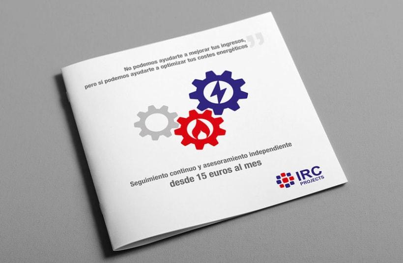Catálogo y página web para IRC Projects 1
