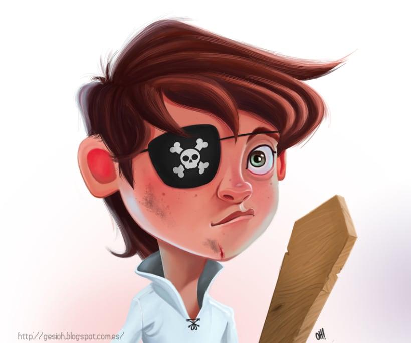 Pequeño pirata. 0