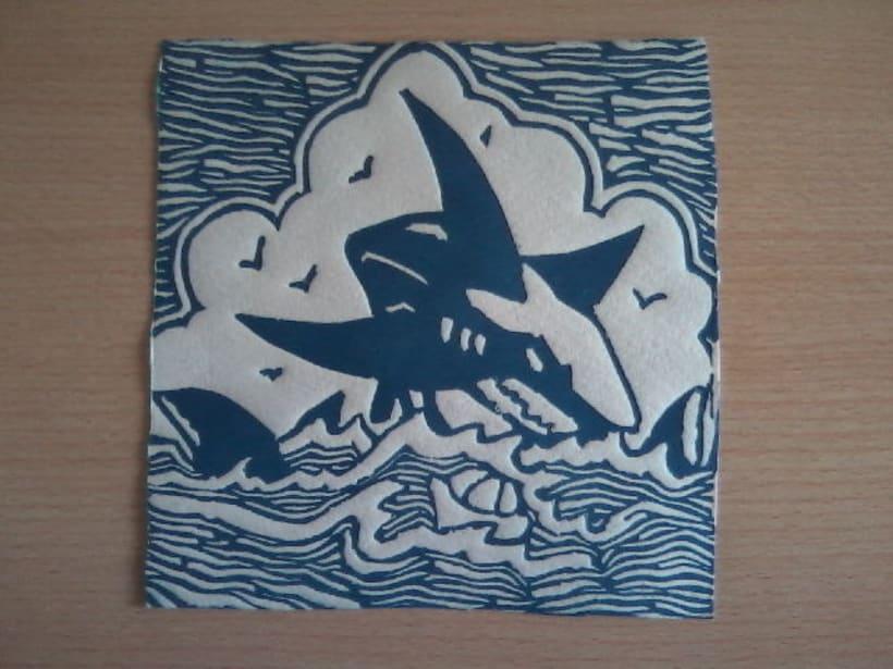 Linoleum Tiburón 2