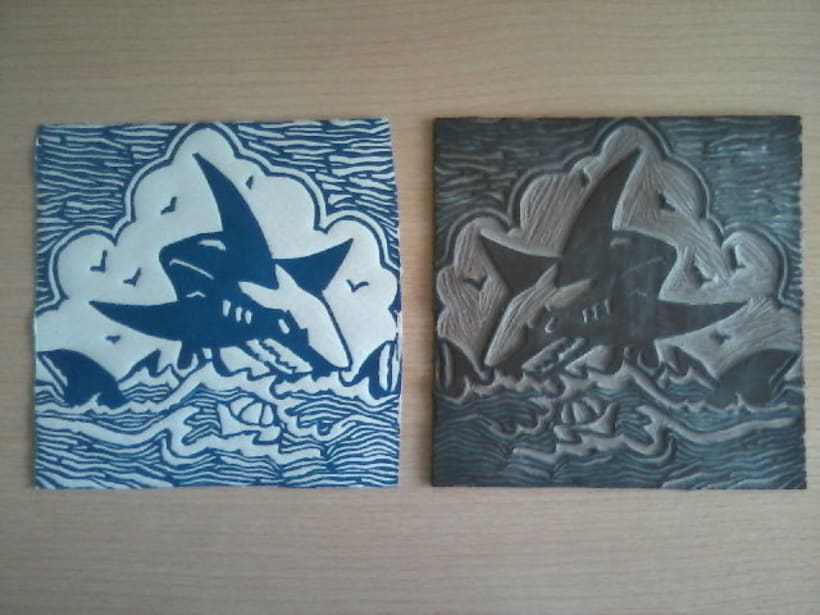 Linoleum Tiburón 3