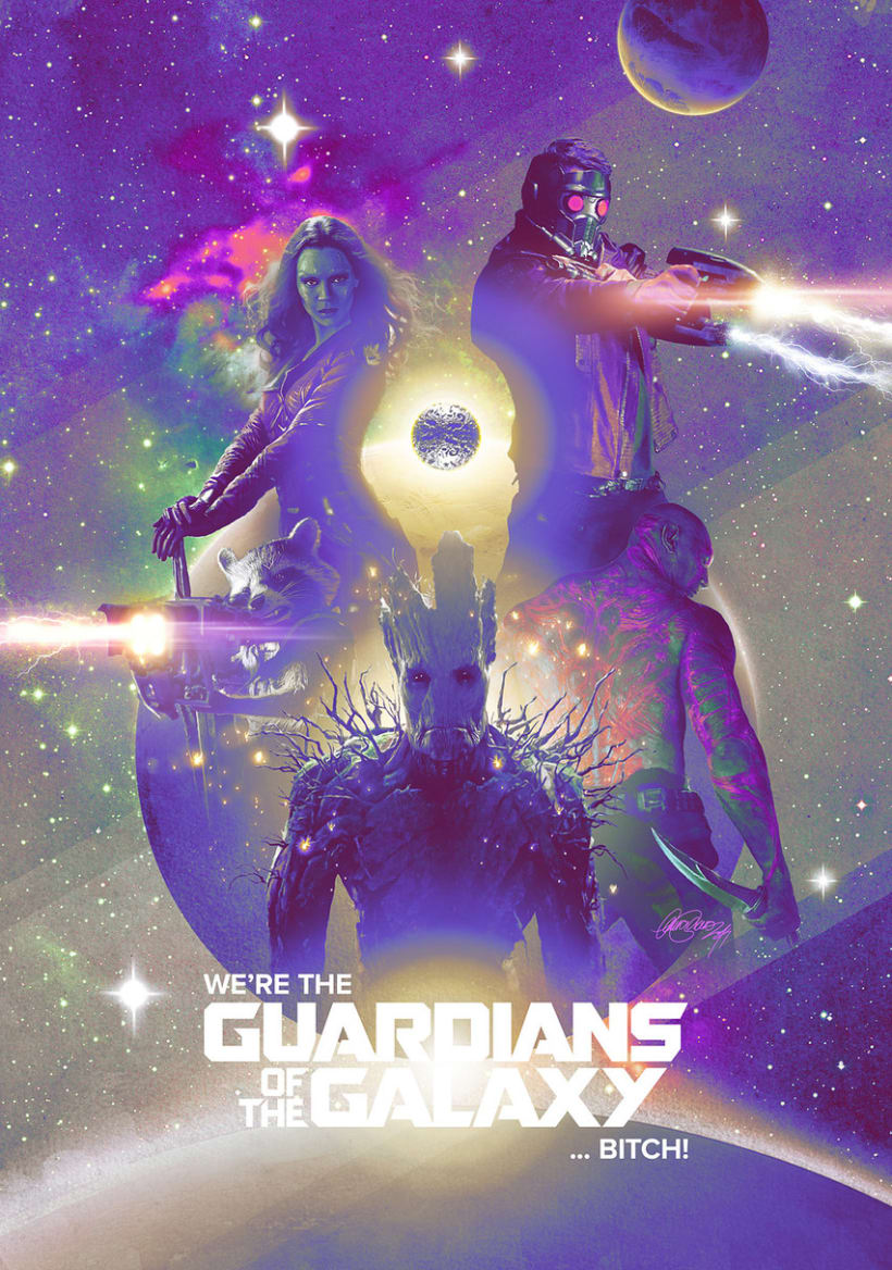 Guardians of the Galaxy -1