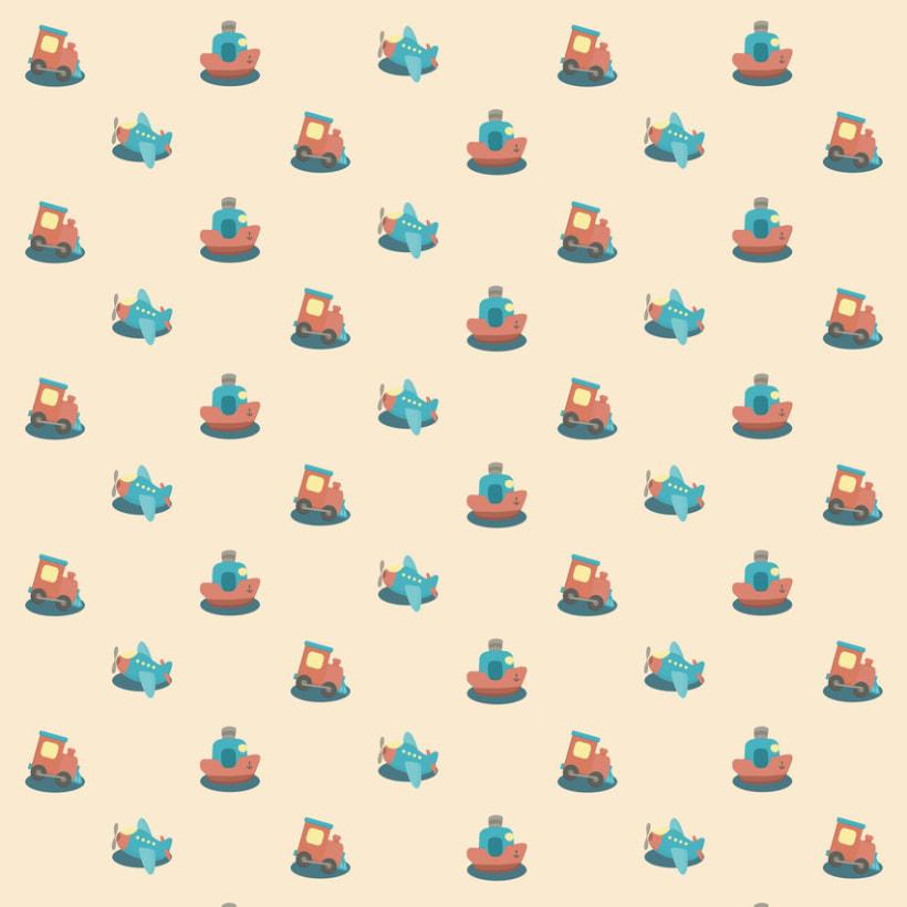 Good Trip pattern (Buen viaje) 2