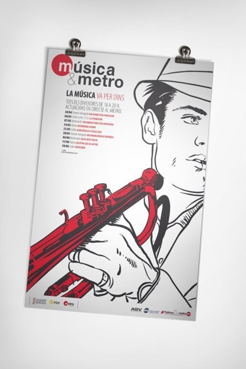 Música & metro 3