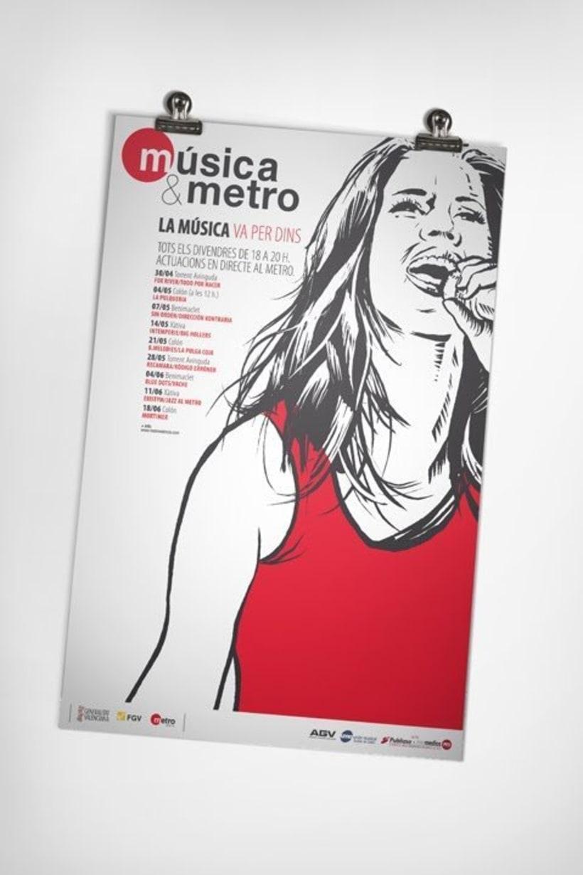 Música & metro 4