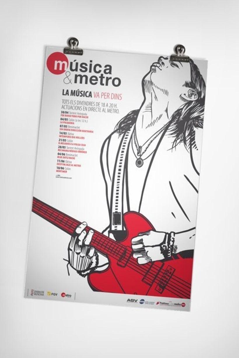 Música & metro 2