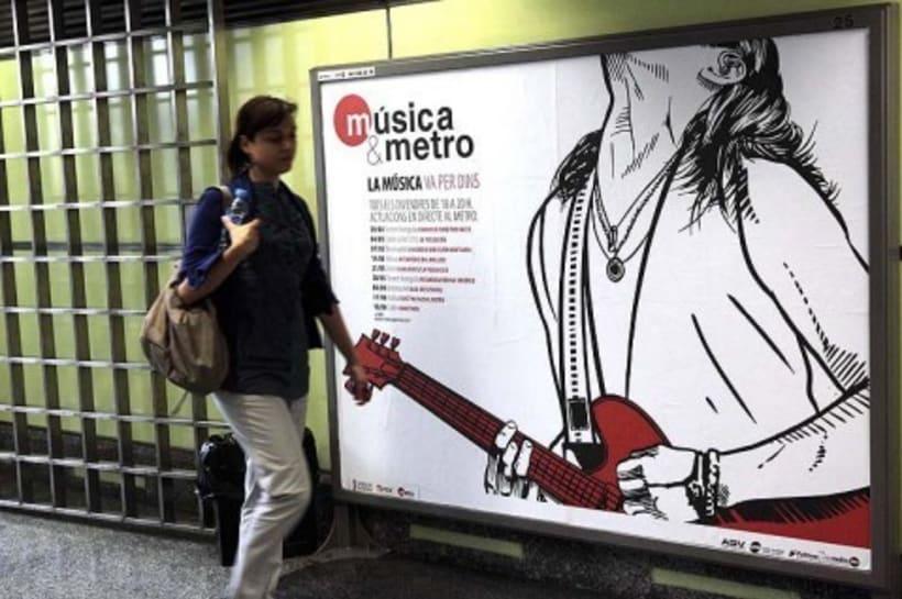 Música & metro 5
