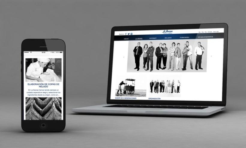 Diseño Web - La Ibense 1