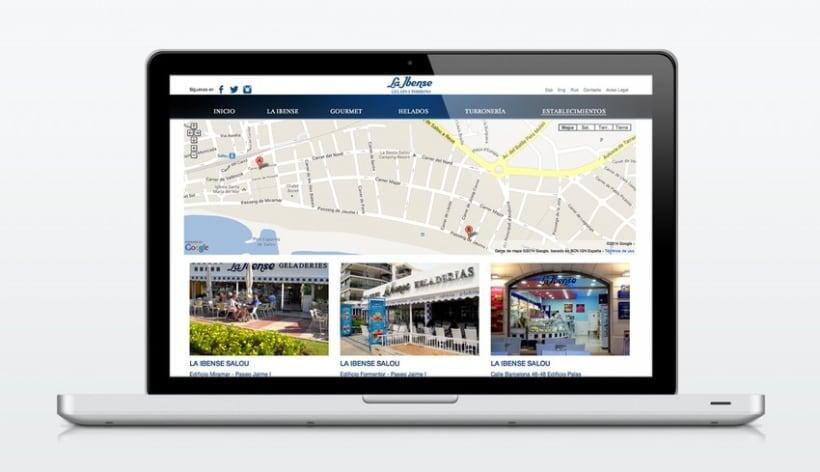 Diseño Web - La Ibense 3