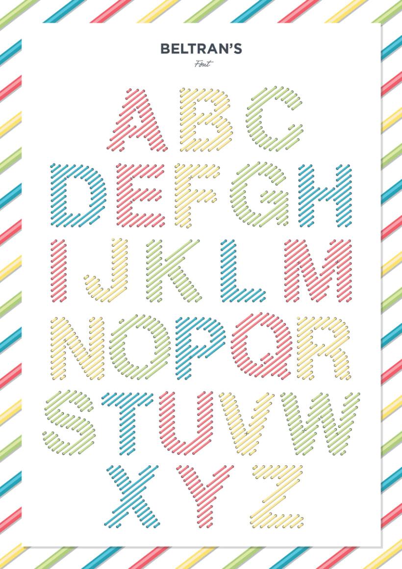 Beltran's typography -1