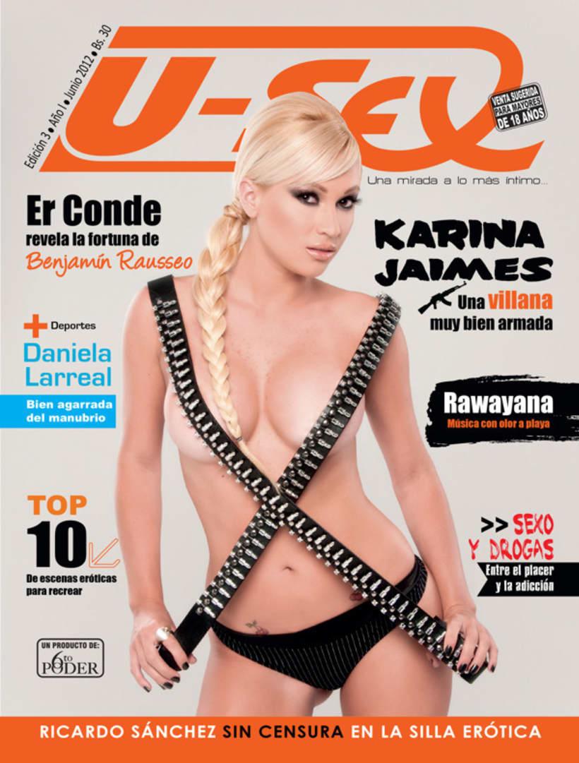 Portadas de Revistas U-Sex  2