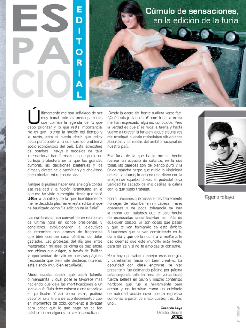 Espacio Editorial U-Sex 1