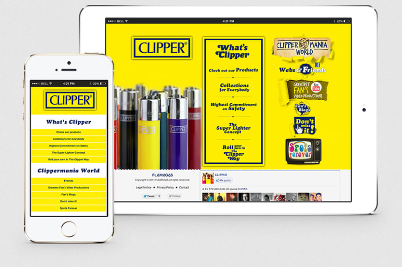 The Official site of Clipper 0