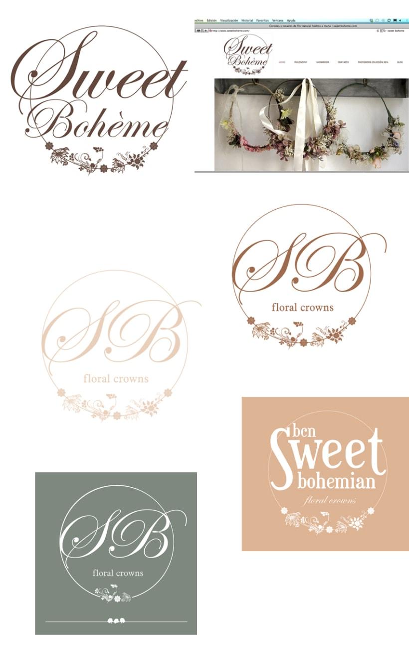 Logo Sweet Bohème 1