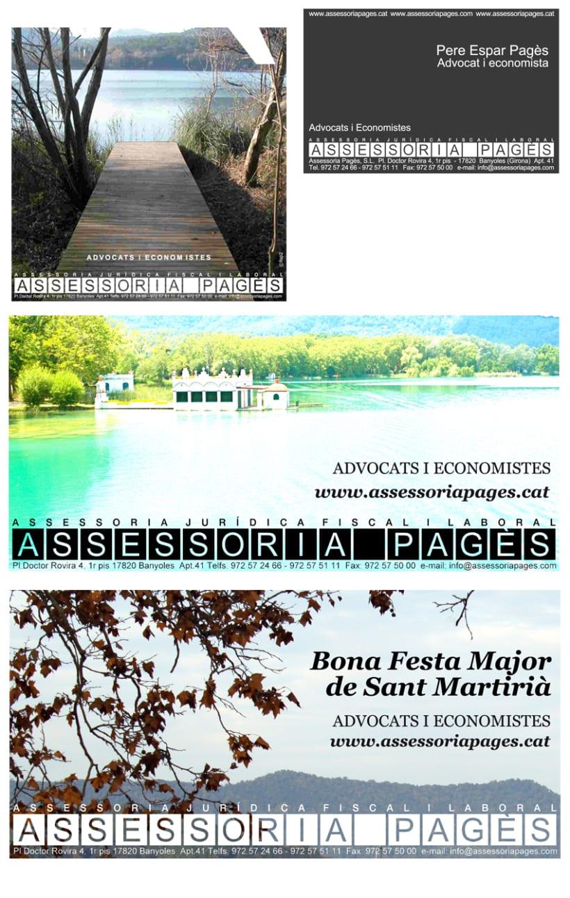 Branding y gestión de marca Assessoria Pagès 1