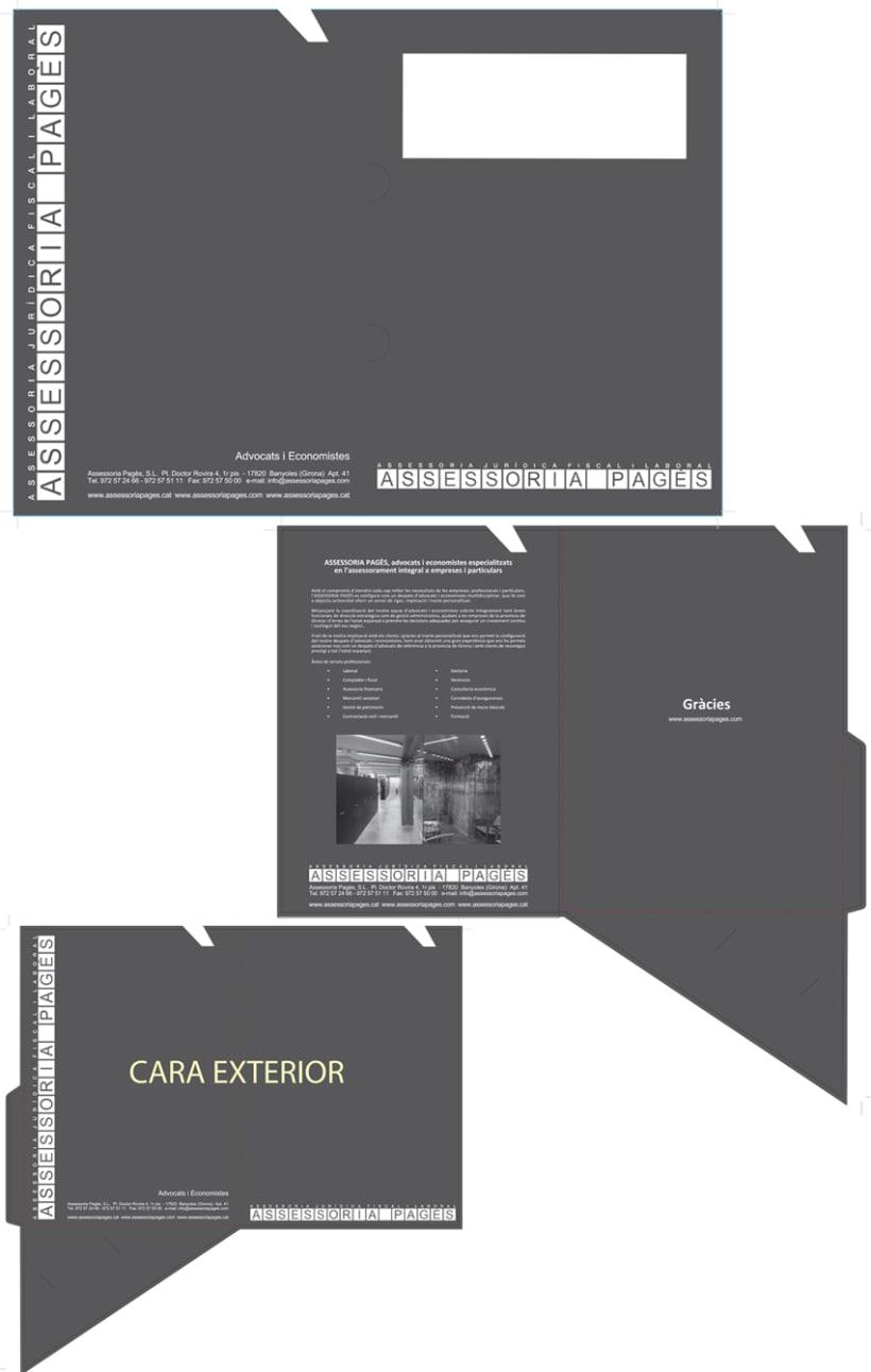 Branding y gestión de marca Assessoria Pagès 2