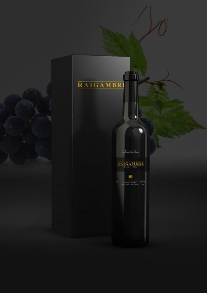 Etiqueta de vino Raigambre 0