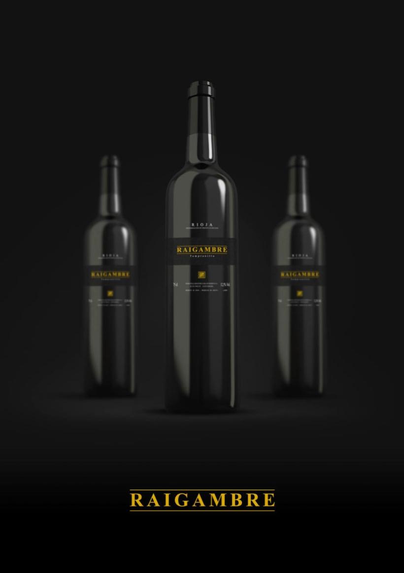 Etiqueta de vino Raigambre 1