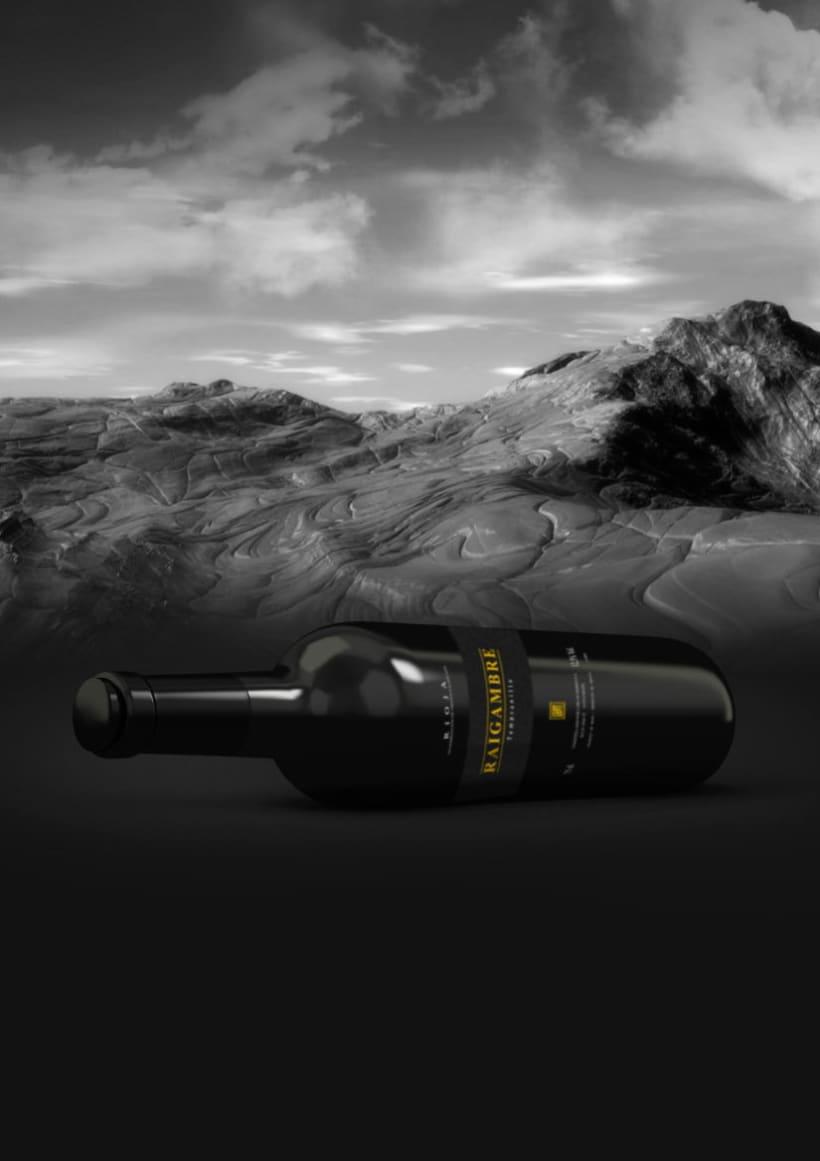 Etiqueta de vino Raigambre 2