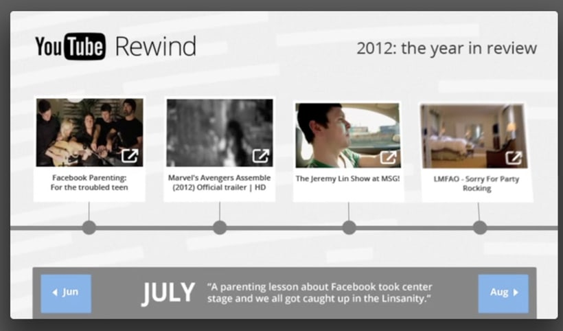 YouTube Rewind 2012 3