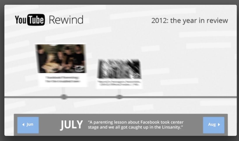 YouTube Rewind 2012 2