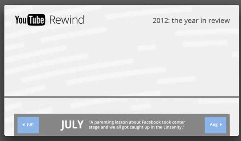 YouTube Rewind 2012 1