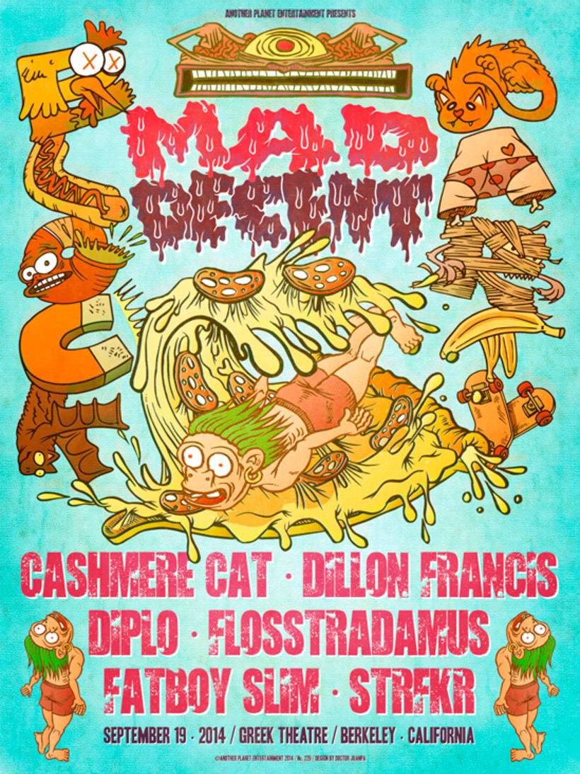 MAD DECENT BLOCK PARTY POSTER 1