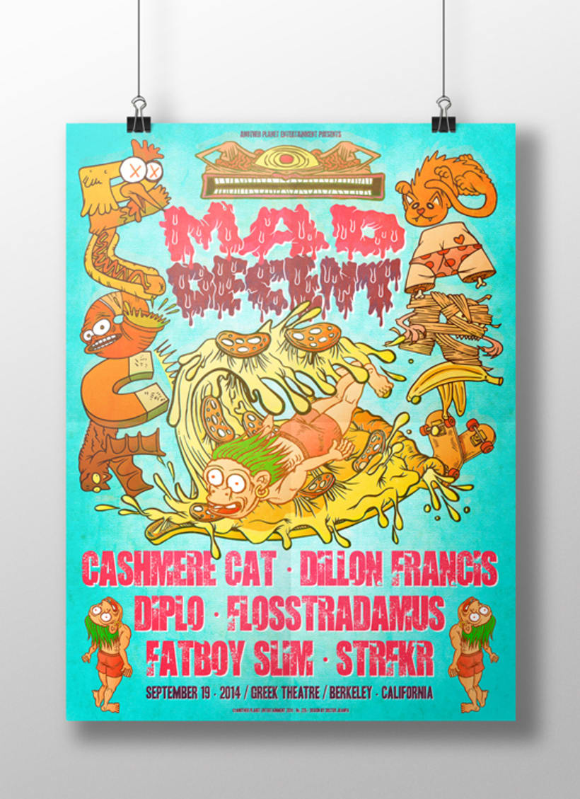 MAD DECENT BLOCK PARTY POSTER 17