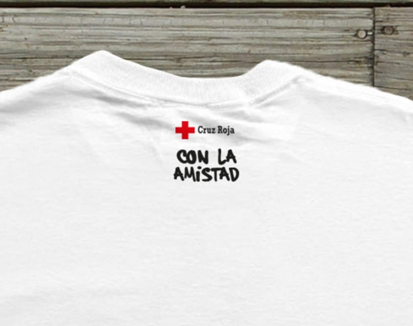 Cruz Roja camisetas 1