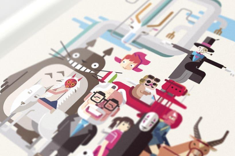Miyazaki Fan Art  1