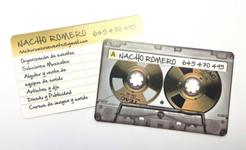 Tarjetas NACHO ROMERO 1