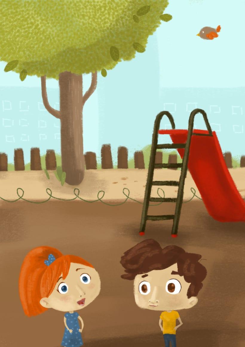 Cuentos para ser ilustrados (libro solidario) 8