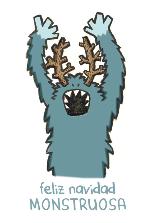 Navidad Mounstruosa 2012, tarjetas navideñas 0