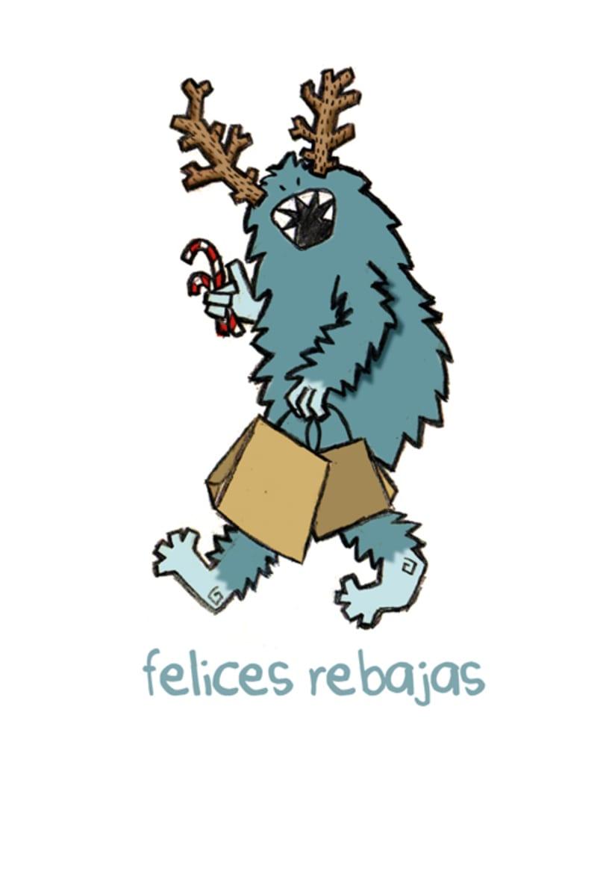 Navidad Mounstruosa 2012, tarjetas navideñas 1