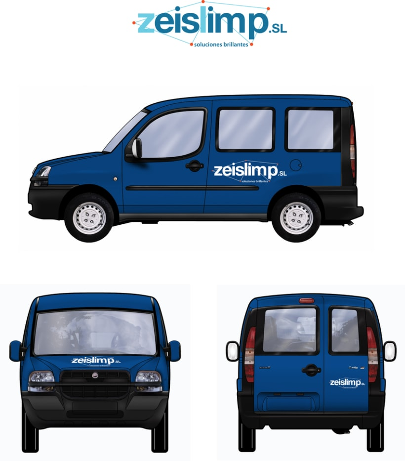 Zeislimp S.L. Branding y identidad 3