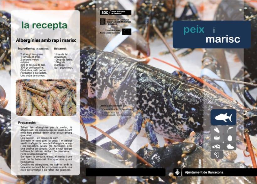 Trípticos mercados de Barcelona 6