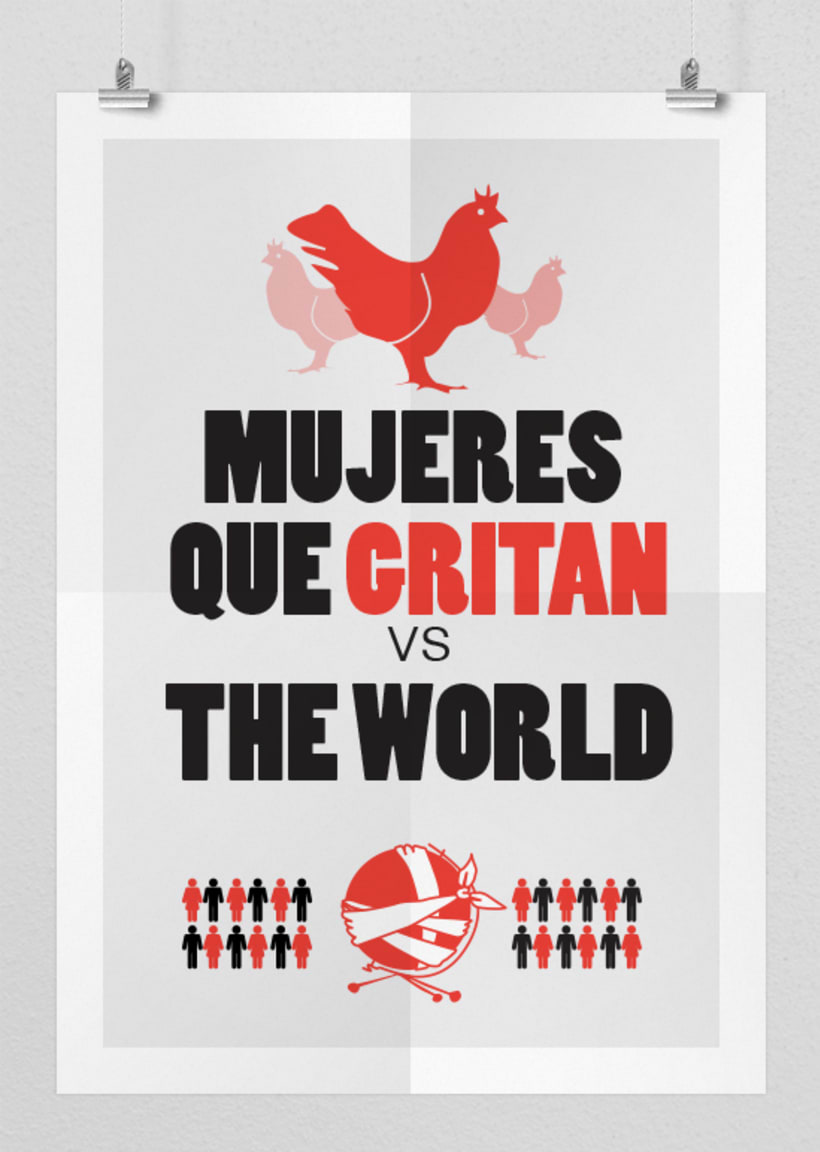 Mujeres que gritan vs. The world -1