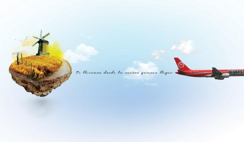 Santa Barbara Airlines -1