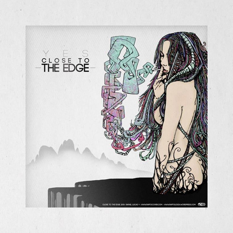 Kiss the Line -  Serie de Ilustraciones basadas en la línea. 0