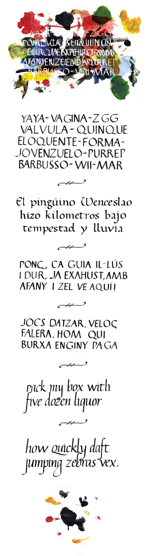 Callygraphy mix -1