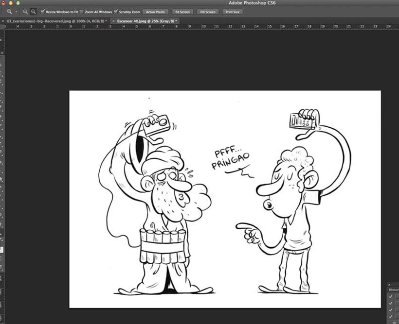 Mi Proyecto del curso Humor gráfico para principiantes 2
